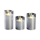Свеча LED CL7-SET3 2xAA 3шт. серебро ФАZA
