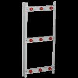 Рама шинного моста 3х8 ЩО YKM60-R-3X8-36