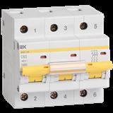 Выключатель ВА47-100 3п 100А х-ка C 10кА MVA40-3-100-C IEK