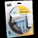 Лента LED 5м блистер LSR-3528W120-9.6-IP20-12V белый цвет -eco