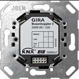 KNX Коплер Шинный контроллер 3 с возм подкл внешнего датч температуры монтаж в коробку 200900 GIRA