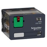 Реле силовое Zelio Relay 4 перекидных конт. светодиод. 230В перем. тока RPM42P7 Schneider Electric