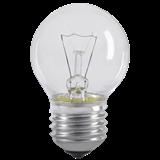 Лампа G45 шар прозр. 60Вт E27 LN-G45-60-E27-CL IEK