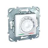 Термостат 10А от +5 до +45 град. для теплых полов Lпровода-4м белый MGU5.503.18ZD Schneider Electric