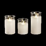Свеча LED CL7-SET3 2xAA 3шт. белый ФАZA