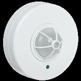 Датчик движения ДД 024В белый, макс. нагрузка 1100Вт, угол обзора 180-360гр, дальность 6м, IP33, ИЭК