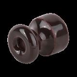 Комплект изоляторов с крепежом 50 шт. (коричневый) Ретро/ WL18-17-01/ a040268