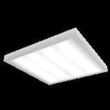 Varton Светильник LED медицинский 595*595*55мм с опаловым рассеивателем 54 ВТ 4000К IP54 диммируемый