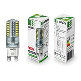 Лампа светодиодная LED  G9 5Вт 840/4000K 300Lm 220В Капсульная прозр.  GRUN. 80px x 80px