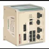 SE Contactors K Коммутатор ConneXium 6TX/2FXSM (6 RJ45,1 медь, 2 опт одномод,10/100 Mbit, покр)