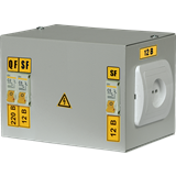 Ящик с понижающим трансформатором ЯТП-0.25 220/12-2 36 УХЛ4 IP31 (ИЭК)