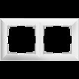 Рамка на 2 пост (белый) / WL14-Frame-02_Fiore/  a038838
