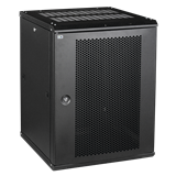 ITK Шкаф LINEA W 18U 600x600 мм дверь перфорированная, RAL9005 LWR5-18U66-PF IEK