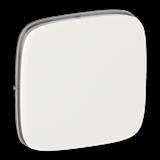 Лицевая панель для переключателя промежуточного. Белый. Valena ALLURE.. 80px x 80px
