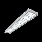 Светодиодный светильник спортивный накладной 1195*200*50мм 36 ВТ 4000К IP40 с защитной сетк V1-E0-00066-20000-4003640 VARTON
