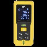 Дальномер лазерный DM60 PROFESSIONAL 60м IP54 жёлтый IEK