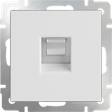 Розетка тел. RJ-11 (белый) / WL01-RJ-11  /a028832