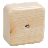 Коробка распаячная КМ для о/п 50х50х20мм сосна UKO10-050-050-020-K34-E IEK