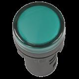 Лампа AD22DS(LED)матрица d22мм зелёный 24В  ИЭК