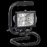 Прожектор ИО150П(переноска) галоген.черный IP54