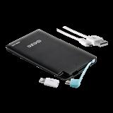 Внешний аккумулятор Power Bank PB-40-bk (черн.) 4000мАч ФAZA (для моб,планшетов,MP3/MP4 и др)