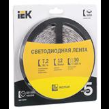 Лента LED 5м блистер LSR-5050Y30-7,2-IP20-12V желтый цвет LSR2-4-030-20-1-05 IEK