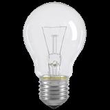 Лампа A55 шар прозр. 75Вт E27 LN-A55-75-E27-CL IEK