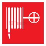 Знак пожарной безопасности 'Пожарный кран'100x100 мм 56-0054 REXANT