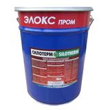 OSTEC Силотерм ЭП-71 КНС Клей негорючий нейтральный силиконовый (пластик. ведро, 15 кг)