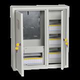 Корпус навес метал учет ЩУРН-3/30зо-1 38 30мод (540х490х165) IP31 ИЭК MKM35-N-30-31-ZO