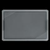 Стекло для электрощитов с маркировкой IEK (110х71мм пластиковое) YWN12