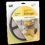 Лента LED 5м блистер LSR-3528Y60-4.8-IP65-12V желтый цвет -eco