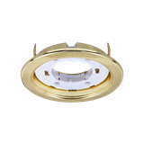 Светильник точечный PGX53 15Вт GX53 D106 глянцевое золото .1016867 JAZZWAY