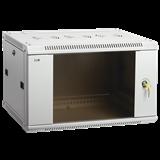 ITK Шкаф LINEA W 18U 600x450 мм дверь стекло, RAL7035 LWR3-18U64-GF IEK