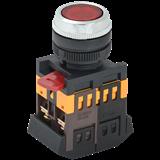 Кнопка ABLFS-22 красный d22мм неон/240В 1з+1р ИЭК