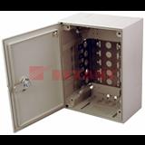 Коробка распределительная на 50 пар, пластик с замком 209х209х75 мм   REXANT