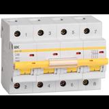 Выключатель автоматический ВА47-100 4п 25А х-ка C 10кА MVA40-4-025-C ИЭК. 80px x 80px