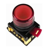 Лампа AL-22TE сигн.d22мм красн неон/240В цилин BLS30-ALTE-K04 IEK