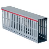 Кабель-канал перфорированный 60х60 серый Quadro DKC 01108RL ДКС