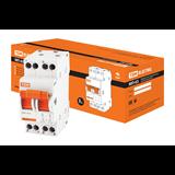 Переключатель трехпозиционный модульный МП-63 2P 40А SQ0224-0016 TDM