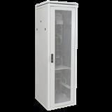 ITK Шкаф сетевой 19' LINEA N 42U 600х800 мм перфорированная передняя дверь серый LN35-42U68-P IEK