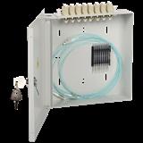 ITK кросс наст. укомплектованный: LC duplex 4шт; OS2 FOBX8-N-4LCUD09 IEK