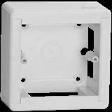 Коробка уст. откр.пр.  (88x88x44)  IP20, белая стыкуемая КМКУ  'ЭЛЕКОР'