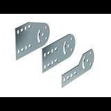 Пластина крепежная GSV H50, цинк-ламельная аналог горячеоцинкованный 30013HDZL ДКС