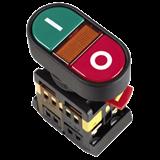 Кнопка APВВ-22N Пуск-Сто' d22мм неон 240В