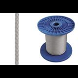 Трос стальной, толщина 4 мм, DIN 3055 CM625504 ДКС