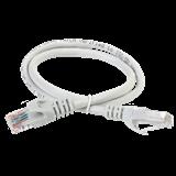 ITK Коммутационный шнур патч-корд , кат.5Е UTP, LSZH, 1,5м, серый PC01-C5EUL-1M5 IEK