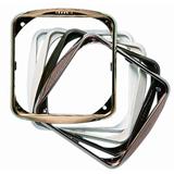 ABB Stylo Обрамление декоративное для 1-постовых рамок, серебро