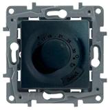 Термостат 16A L провода 4м для теплых полов антрацит ETIKA 672630 Legrand