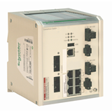 SE Contactors K Коммутатор ConneXium 8TX (8 RJ45, 1 медь, 10/100 Mbit, покрытие)